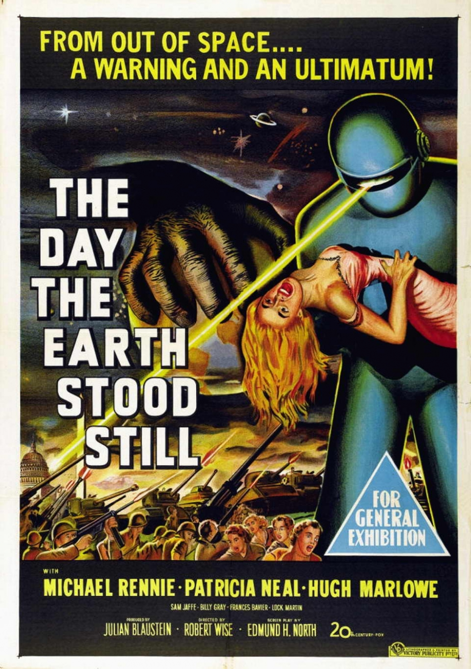 The Day the Earth Stood Still (1951 film) - Wikiquote |The Day The Earth Stood Still 1951 Klaatu