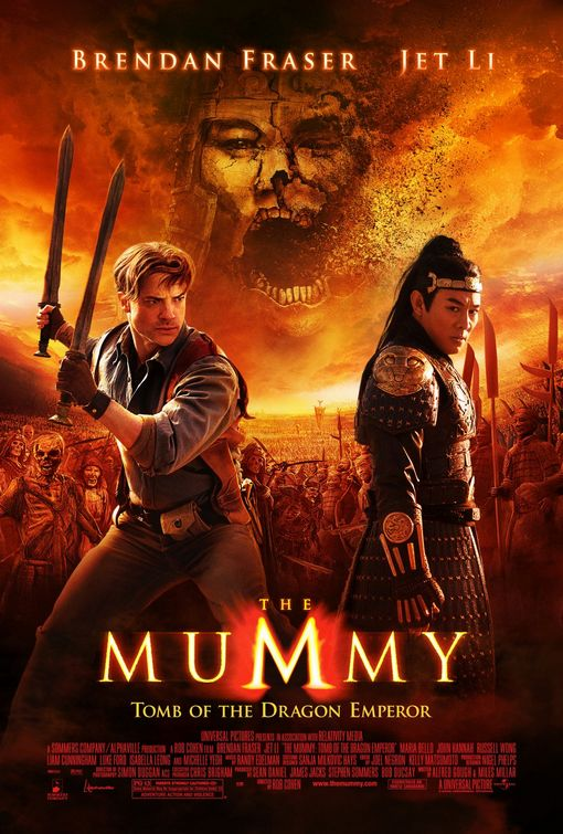 mummy tomb of the dragon emperor poster 2008 02 jpgThe Mummy Tomb Of The Dragon Emperor Three Headed Dragon