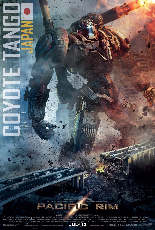 Pacific Rim Kaiju Poster COYOTE TANGO - Kaijuma...