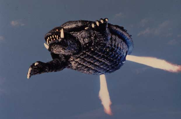 Gamera Flying GAMERA - Kaijumatic