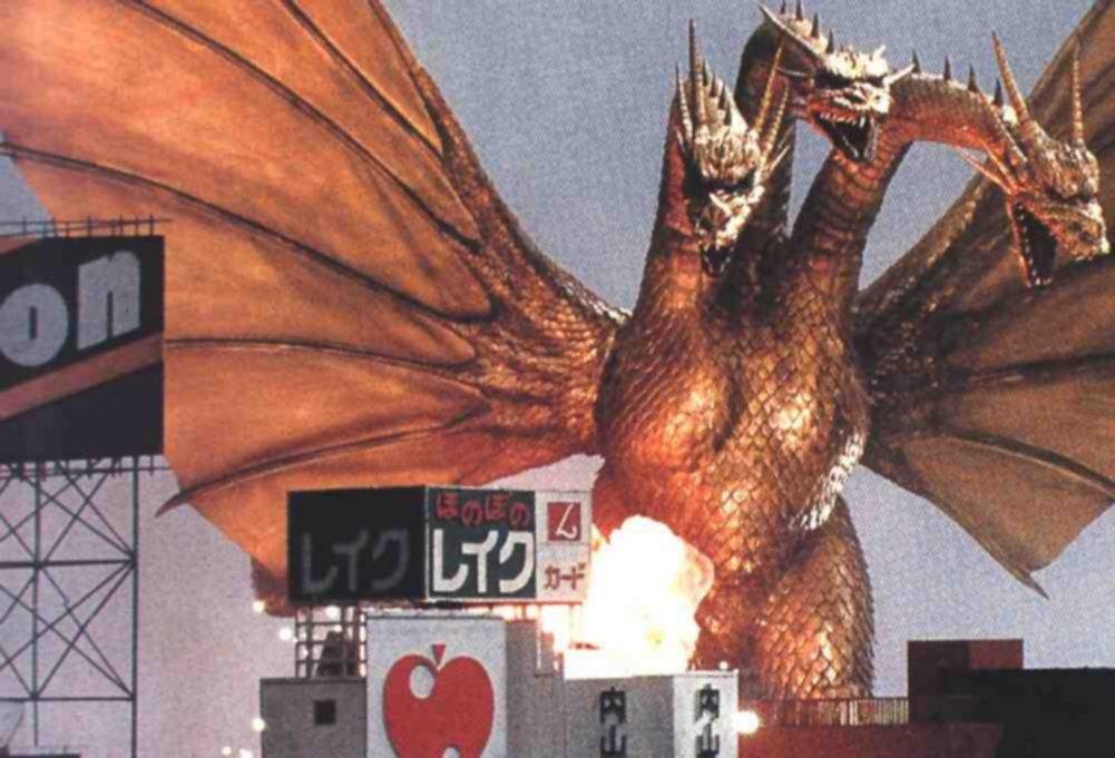 ... Finale: Godzilla 2014 vs Rodan 93 vs King Ghidorah 91 vs Gamera Heisei